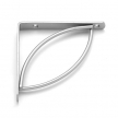 TRAMP 200 SR wspornik stalowy - 200 x 200 mm - srebrny matowy - VELANO DOMAX