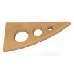 Kody 180 BK wspornik drewniany - 180 x 85 mm - buk - VELANO DOMAX