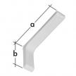 WSPP 115 wspornik z osłoną plastikową - 115 x 78 x 26 mm - biały - VELANO DOMAX